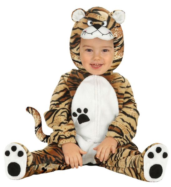Toddler Baby Tiger Cub Costume Animal Fancy Dress